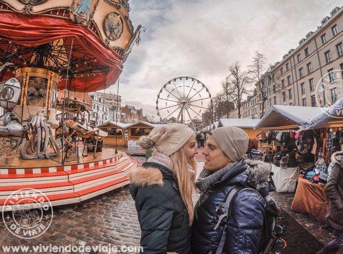 Mercado navideño de Marché aux Poissons