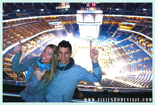 Outlet en Orlando y partido de la NBA