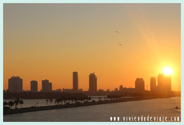 Amanecer en Miami