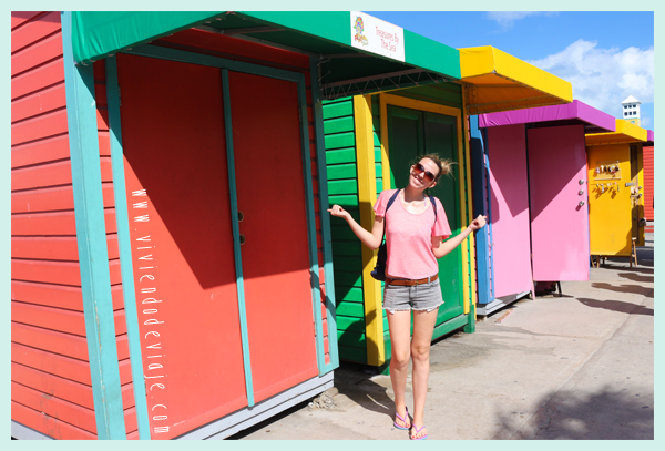 Casitas de colores en Bahamas