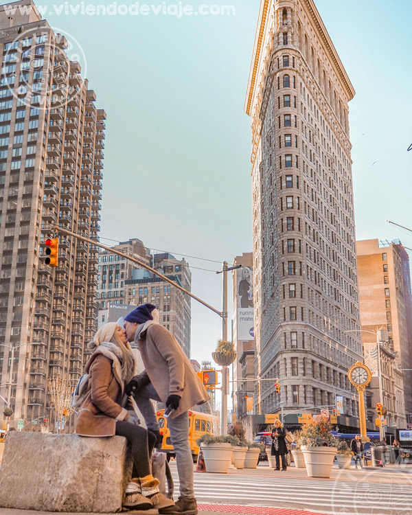 Que hacer en Nueva York, fotografiar el edificio Flatiron