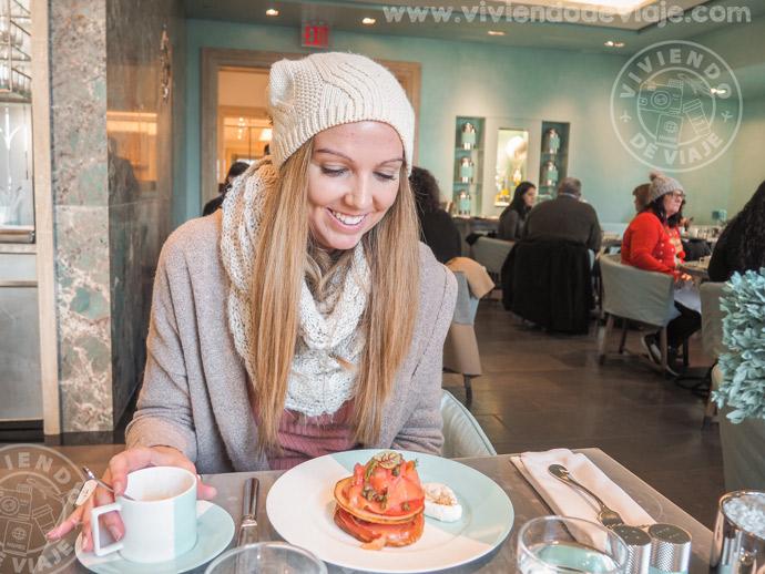 Desayuno en Tiffany, New York City