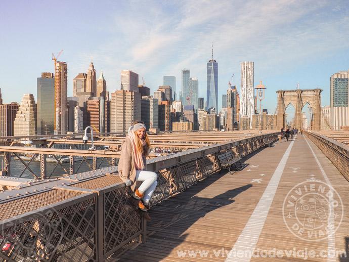 Que hacer en Nueva York, cruzar el puente de Brooklyn