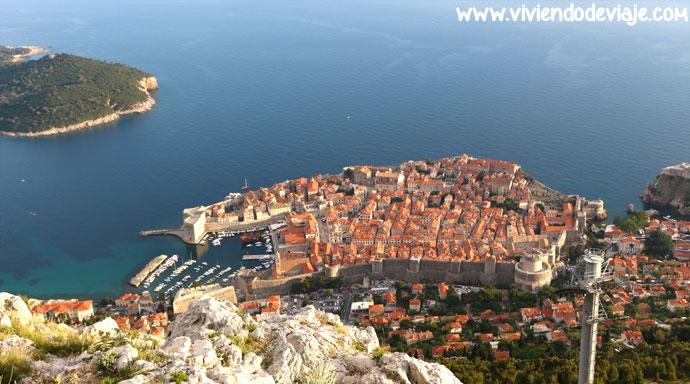 Qué ver en Dubrovnik, mirador