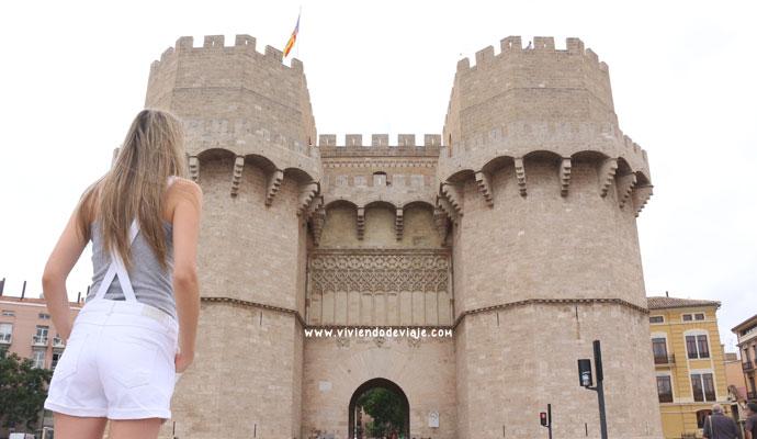 Torres de Serrano en Valencia