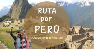 Ruta de viaje a Perú