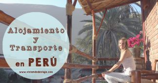Transporte y alojamiento en Perú