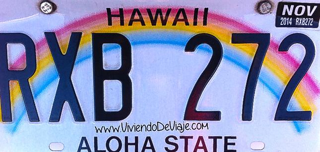 Alquilar coche en Estados Unidos, consejos. Hawaii