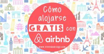 Cómo alojarse gratis con Airbnb