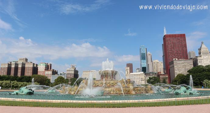 Que hacer en Chicago, Buckingham Fountain