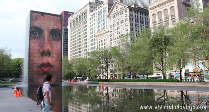 Que hacer en Chicago, Crown Fountain