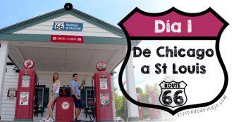 Ruta 66, día 1 | De Chicago a St. Louis