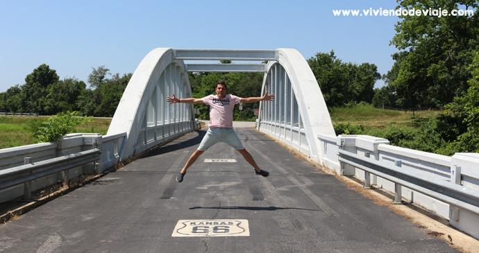 Brush Creek Bridge, Ruta 66