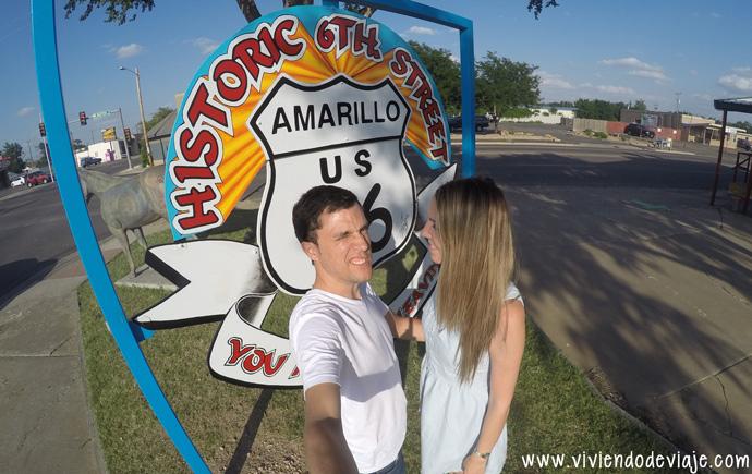 Ruta 66, Oklahoma - Amarillo