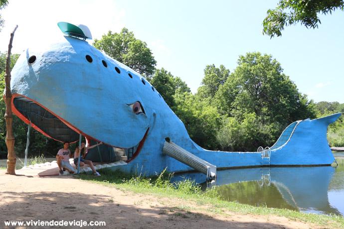 Ruta 66 Blue Whale