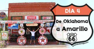 Ruta 66, día 4 | De Oklahoma a Amarillo