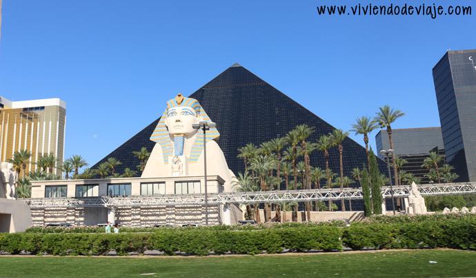 que hacer en Las Vegas, Hotel Luxor