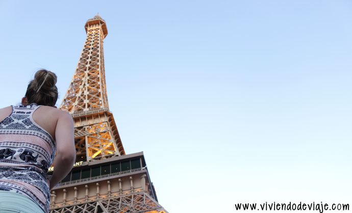Que hacer en Las Vegas, Torre Eiffel