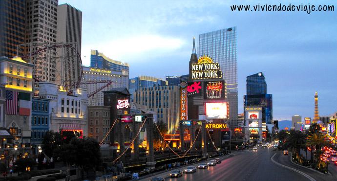 Que hacer en Las Vegas, Strip
