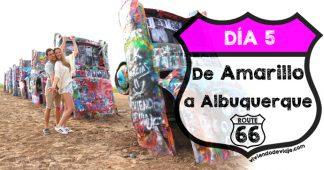Ruta 66, día 5 | De Amarillo a Albuquerque
