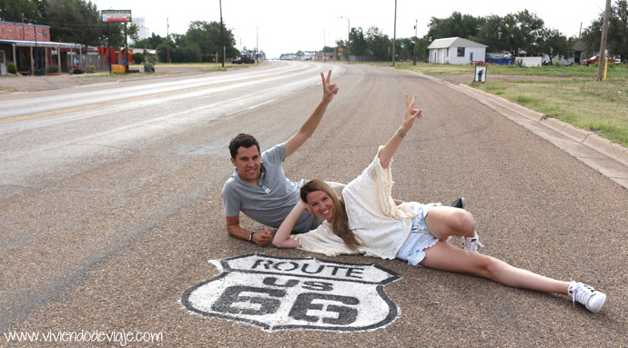 Ruta 66, Texas