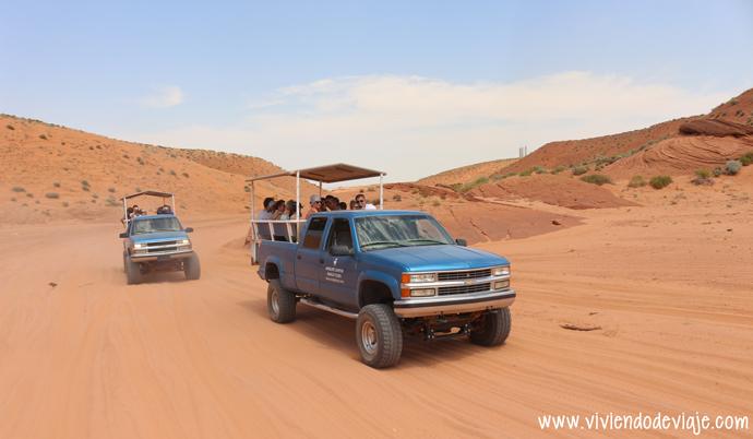 Tour por el Antelope Canyon