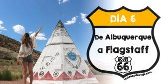 Ruta 66, día 6 | De Albuquerque a Flagstaff