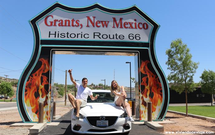 Ruta 66, Grants (New Mexico)
