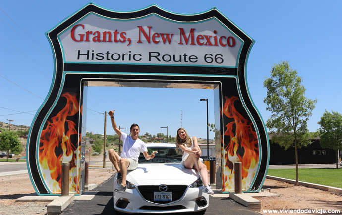 Ruta 66, Grants (New Mexico)