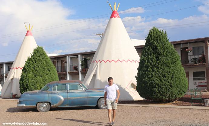 Wigwam Hotel, Ruta 66