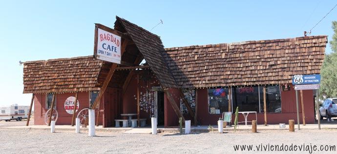De Las Vegas a Los Angeles, Bagdad Cafe