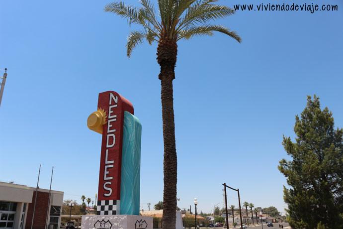 De Las Vegas a Los Angeles, Needles