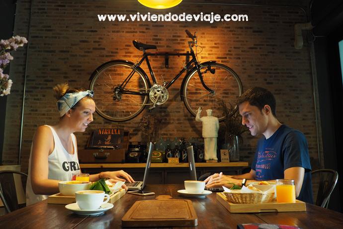 Cafetería bonita en Chiang Mai