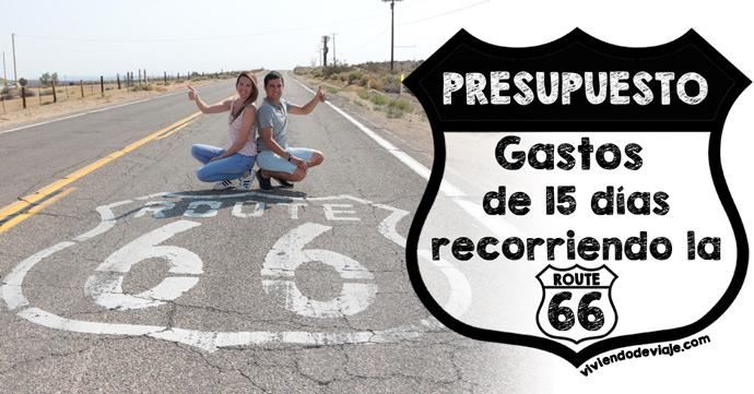 ¿Cuánto cuesta hacer la Ruta 66? Presupuesto