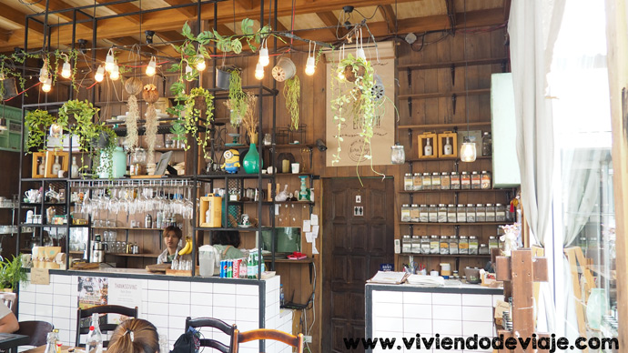 Cafetería en Chiang Mai