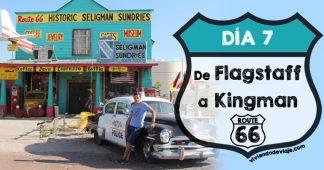 Ruta 66, día 7 | De Flagstaff a Kingman