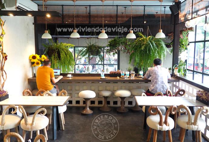 Cafeterías en Chiang Mai, Waan Café