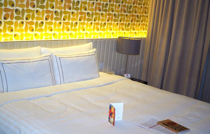 hotel rendezvous, habitación