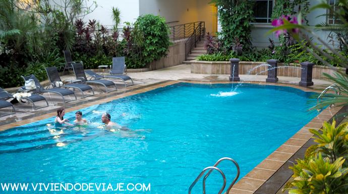 hotel rendezvous, piscina