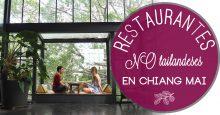 Dónde comer (comida NO tailandesa) en Chiang Mai