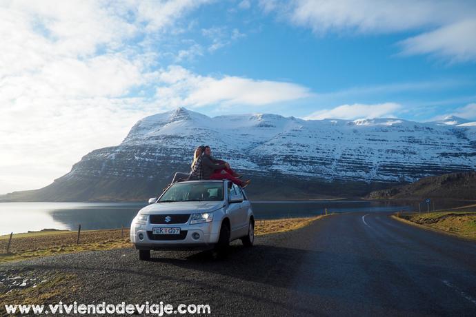Islandia en invierno, preparativos, alquiler de coche