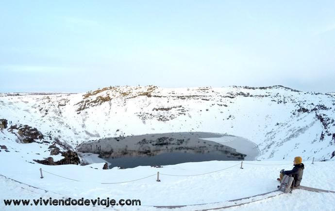 Que ver en Islandia, Cráter Kerio