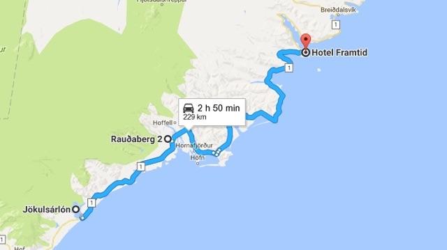 Ruta por Islandia en 10 días, día 4