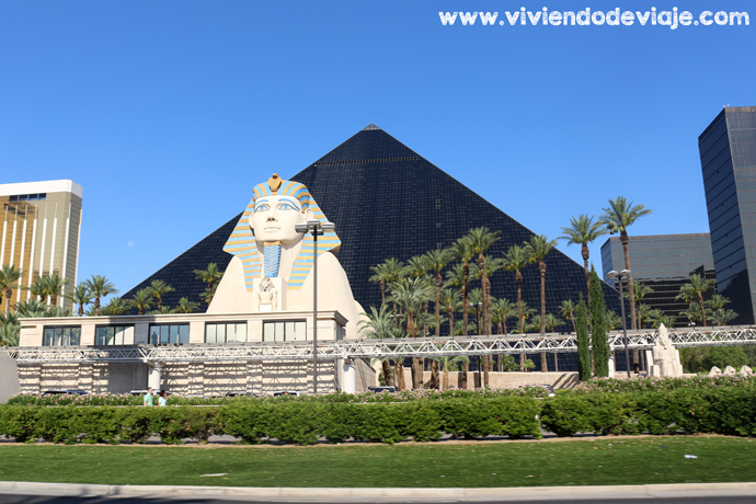 Donde alojarse en Las Vegas, Hotel Luxor