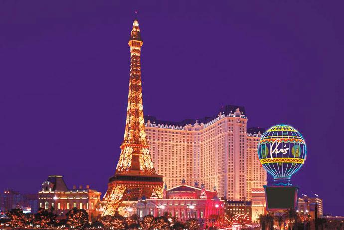 Hoteles en Las Vegas, Paris