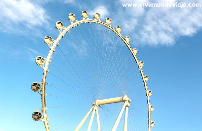 Noria del hotel The Linq | Un buena opción dónde alojarse en Las Vegas