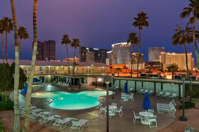 Donde alojarse en Las Vegas, Wild Wild West