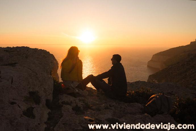 Ruta por Malta, Dingli Cliffs