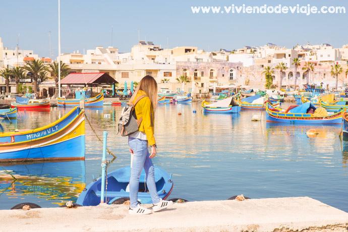 Que ver en Malta, Marsaxlokk