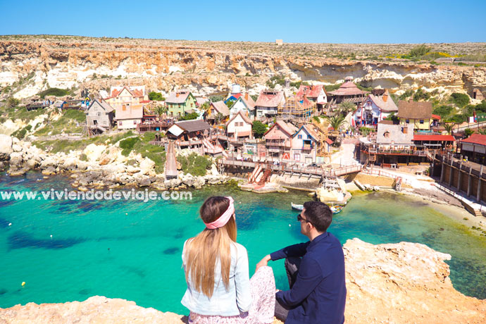 Que ver en Malta. Popeye Village